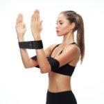 BLACKROX Fitnessband BOOTYROX, Widerstandsband, für Männer und Frauen, Yoga, Krafttraining, Pilates, Fitness, Hüftband für Beine, Hüfte, Po und Gesäß, verschiedene Widerstände, Muskelaufbau
